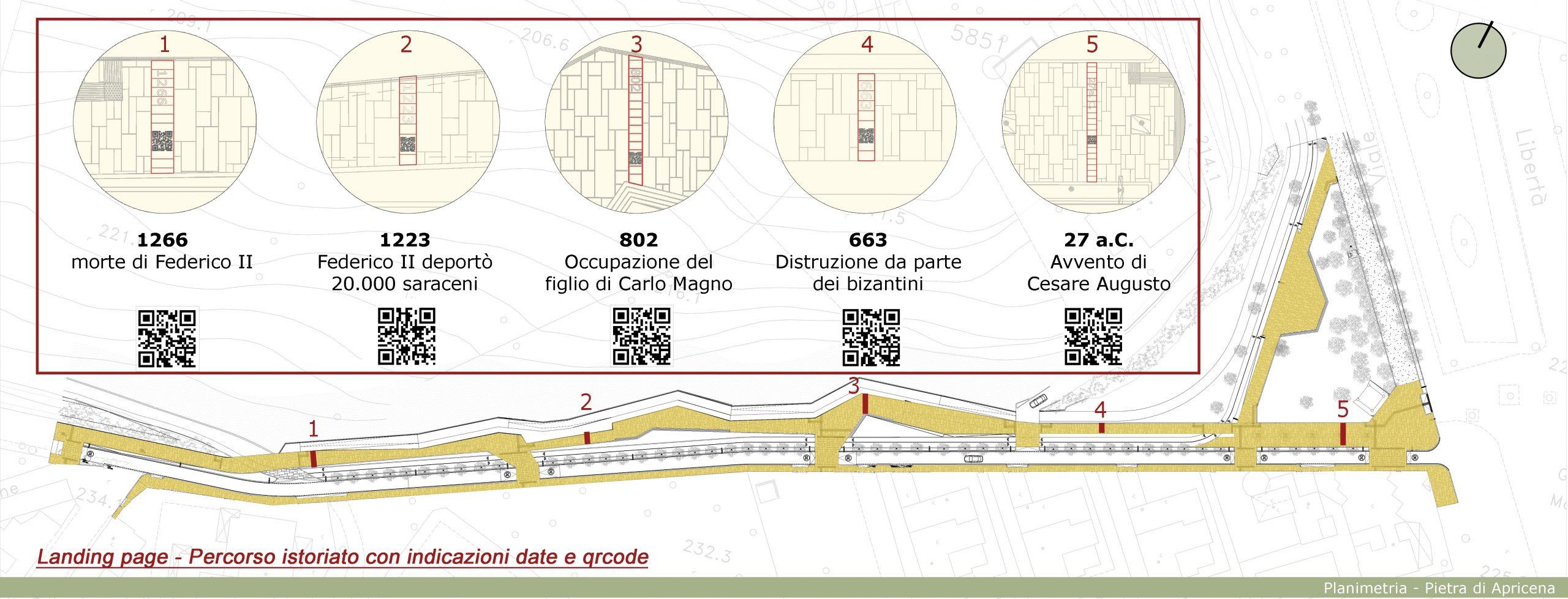 planimetria con qr code